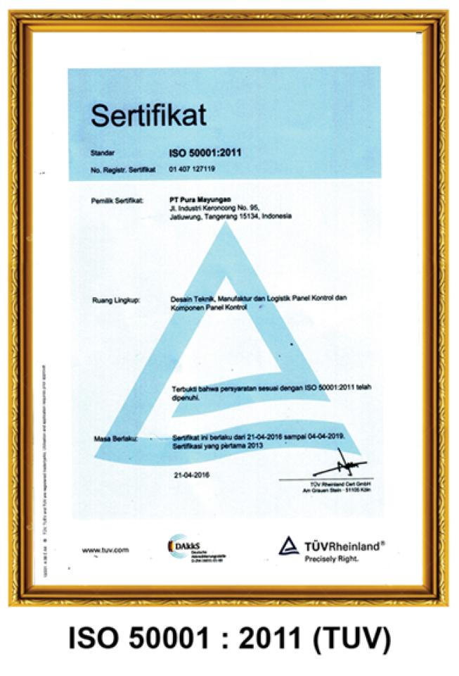 ISO 50001:2011 (TUV)