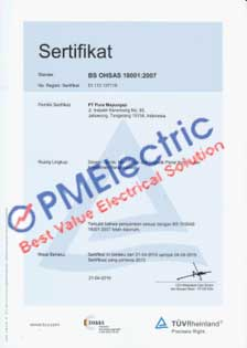 BS OHSAS 18001-2007 from TUV