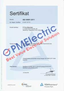 ISO-50001-2011 from TUV