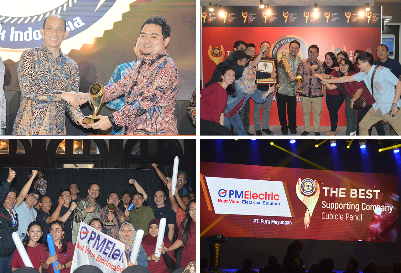 2018 - Pura Mayungan The Best Supporting Company Cubicle Panel